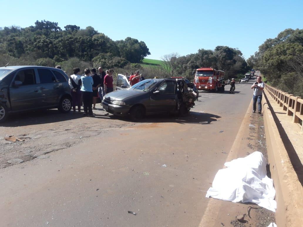 Acidente na ERS 223 entre Selbach e Tapera matou três pessoas