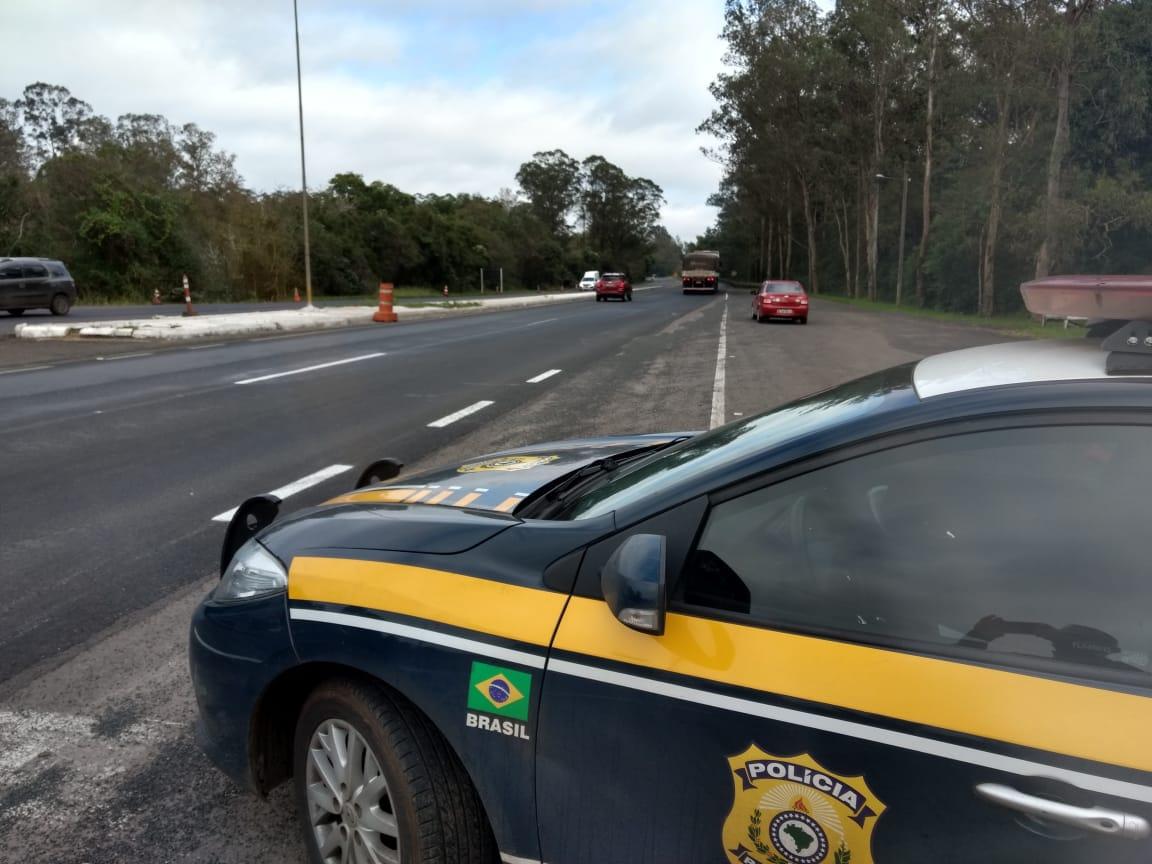 Mesmo com movimento intenso, trecho da PRF entre  Vitor Graeff e Nova Santa Rita teve um acidente com morte