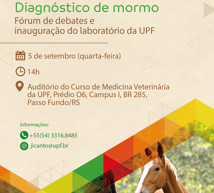 UPF inaugura nesta quarta-feira primeiro laboratório da análise do mormo da região