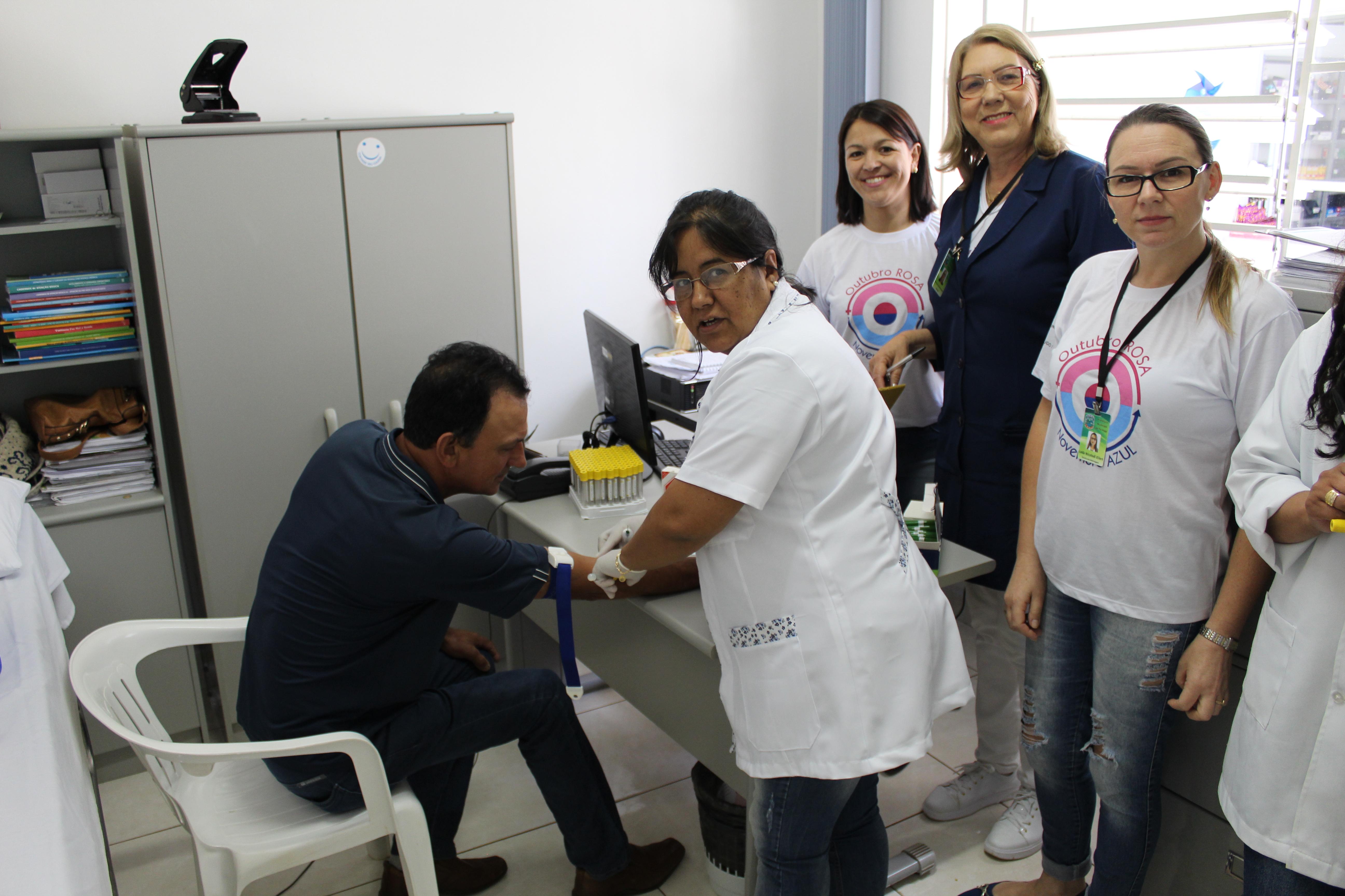 Secretaria da Saúde de Tio Hugo promoveu o Dia D alusivo ao novembro azul