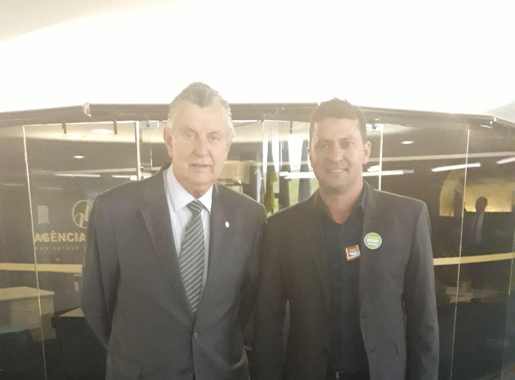 Prefeito de Tio Hugo cumpriu agenda em Brasília