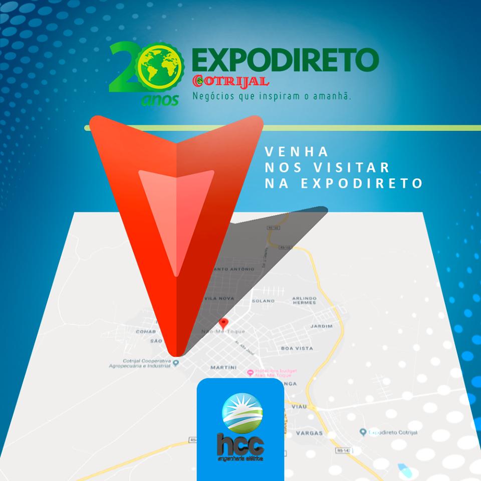HCC Engenharia Elétrica participará da 20ª Expodireto e demonstrará seus projetos de energia solar