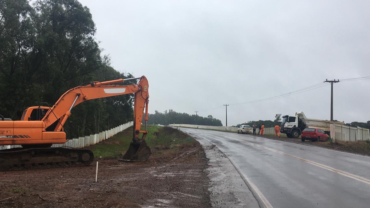 Começa recuperação da rodovia que liga Carazinho a Não-Me-Toque