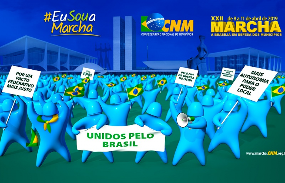 Prefeitos do Alto Jacuí se mobilizam para participar da 22ª Marcha a Brasília