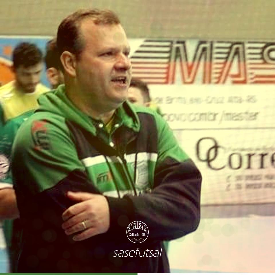Jaques Cavalli é o novo técnico da SASE de Selbach