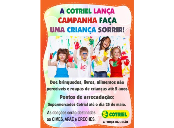 Cotriel convida a comunidade para participar das ações da campanha Dia de Cooperar