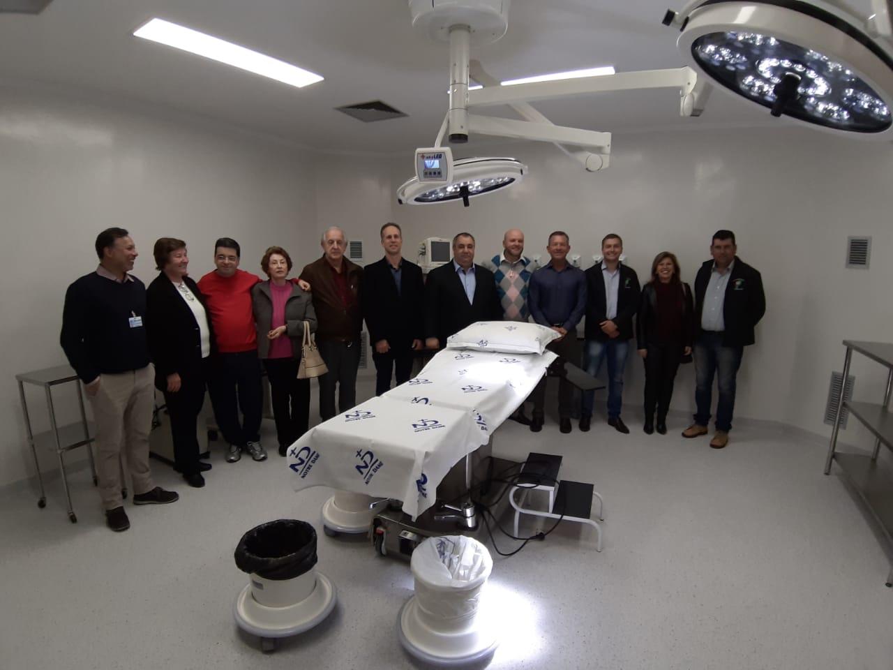 Hospital Notre Dame Júlia Billiart inaugura novo Centro Cirúrgico em Não-Me-Toque