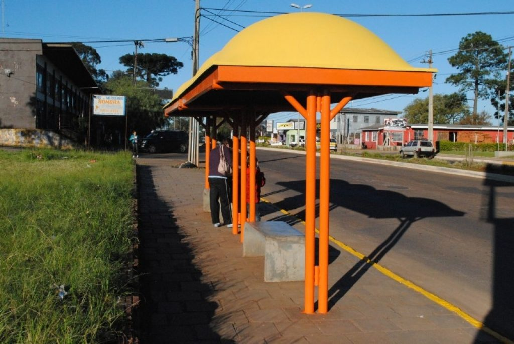 Carazinho irá receber obra de acessibilidade em paradas de ônibus