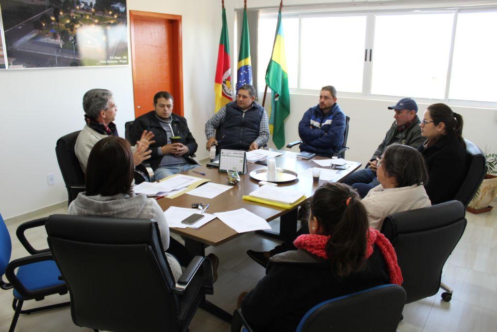 Atualização do Plano de Saneamento Básico de Tio Hugo foi pauta de reunião