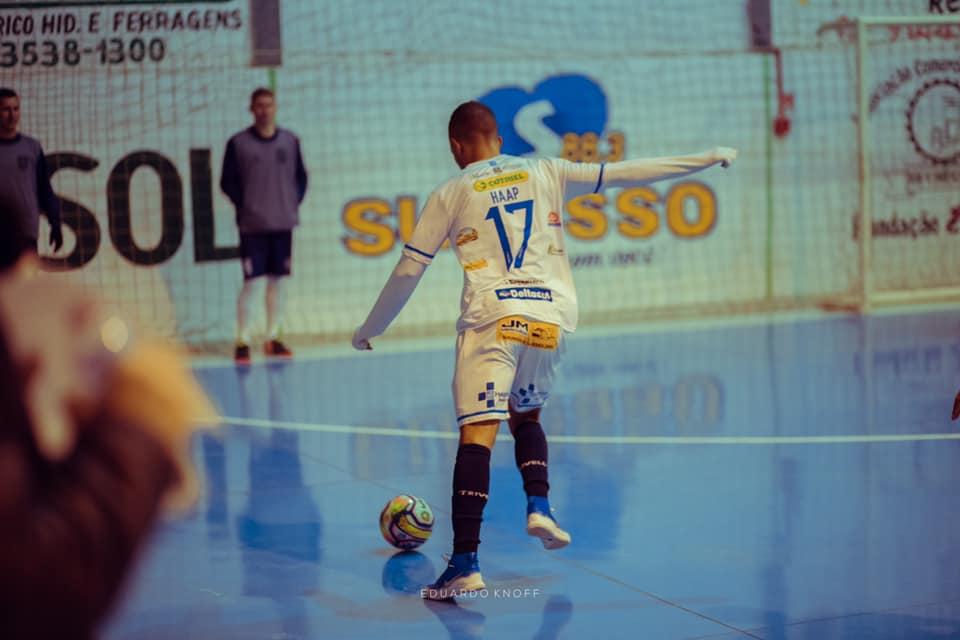 Terceiro na Liga Gaúcha de Futsal, Guarany/Cotriel enfrenta AMF de Marau sexta-feira