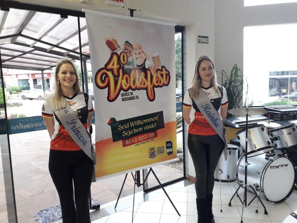 4ª Volksfest volta a ser realizada em XV de Novembro