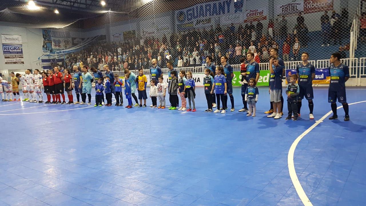 Guarany/Cotriel vence AMF e assume a vice-liderança da Liga Gaúcha
