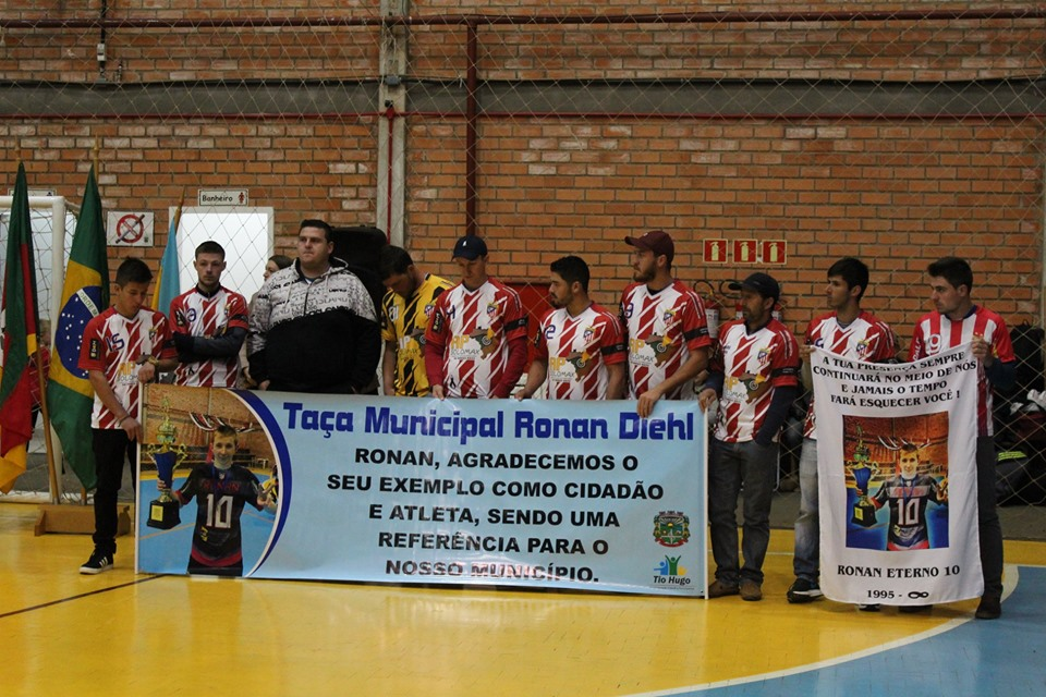 Iniciada a Taça Municipal Ronan Diehl de Tio Hugo