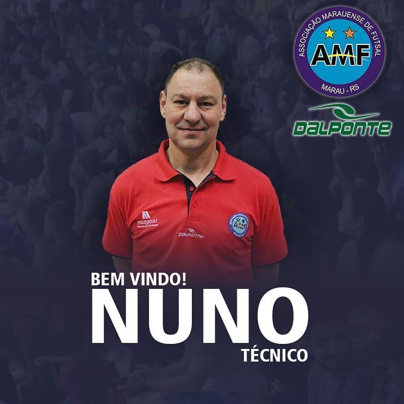 Nuno assume AMF de Marau na Liga Gaúcha