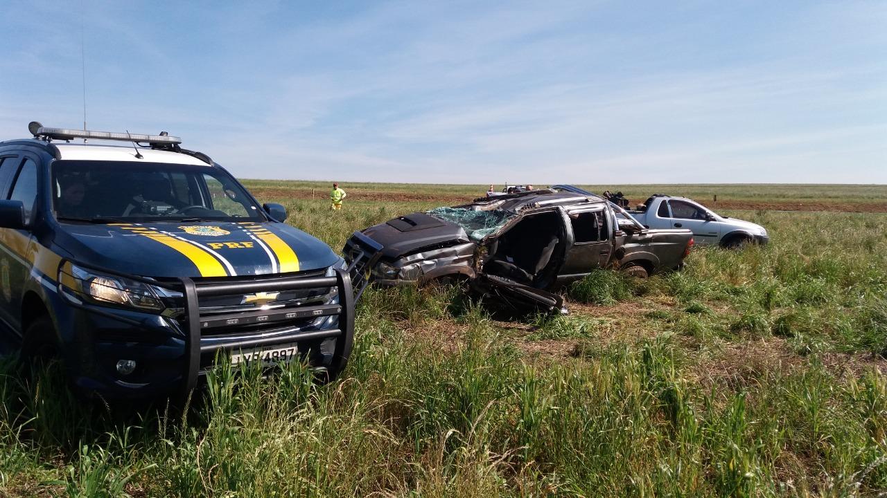 Motorista sofre acidente na BR 386 em Victor Graeff