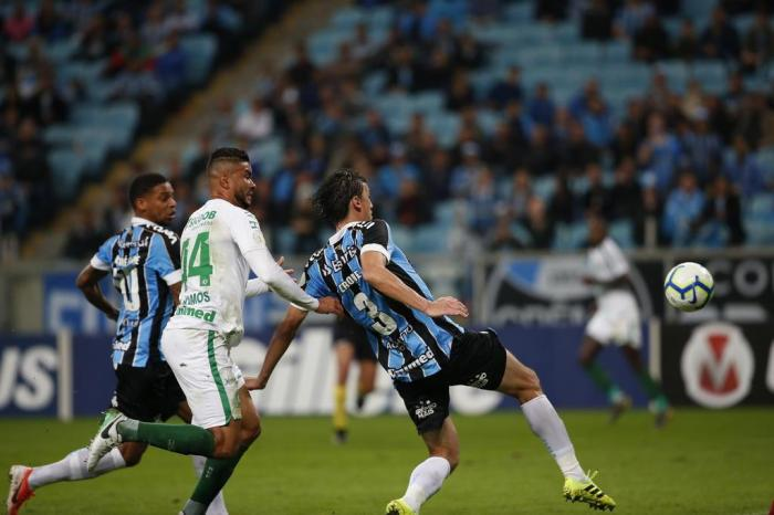 Com críticas ao VAR, Grêmio empata com a Chapecoense na Arena