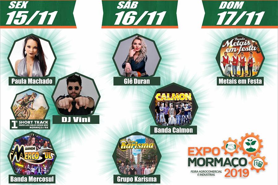 ExpoMormaço 2019 apresenta diversas atrações musicais aos visitantes