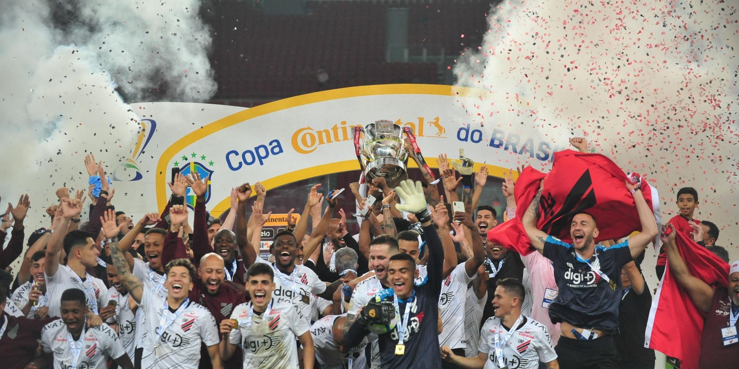 Athletico-PR vence o Inter no Beira-Rio e conquista a Copa do Brasil