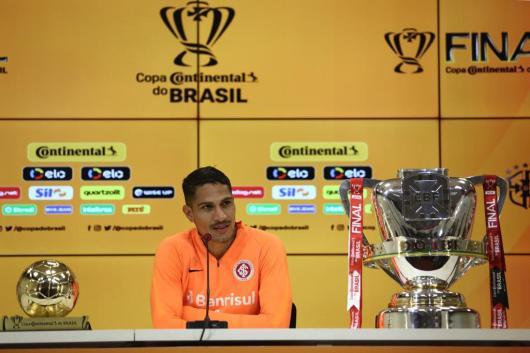 """Guerrero diz que Inter está com a """"faca entre os dentes"""" para conquistar a Copa do Brasil: """"A única coisa que queremos"""""""