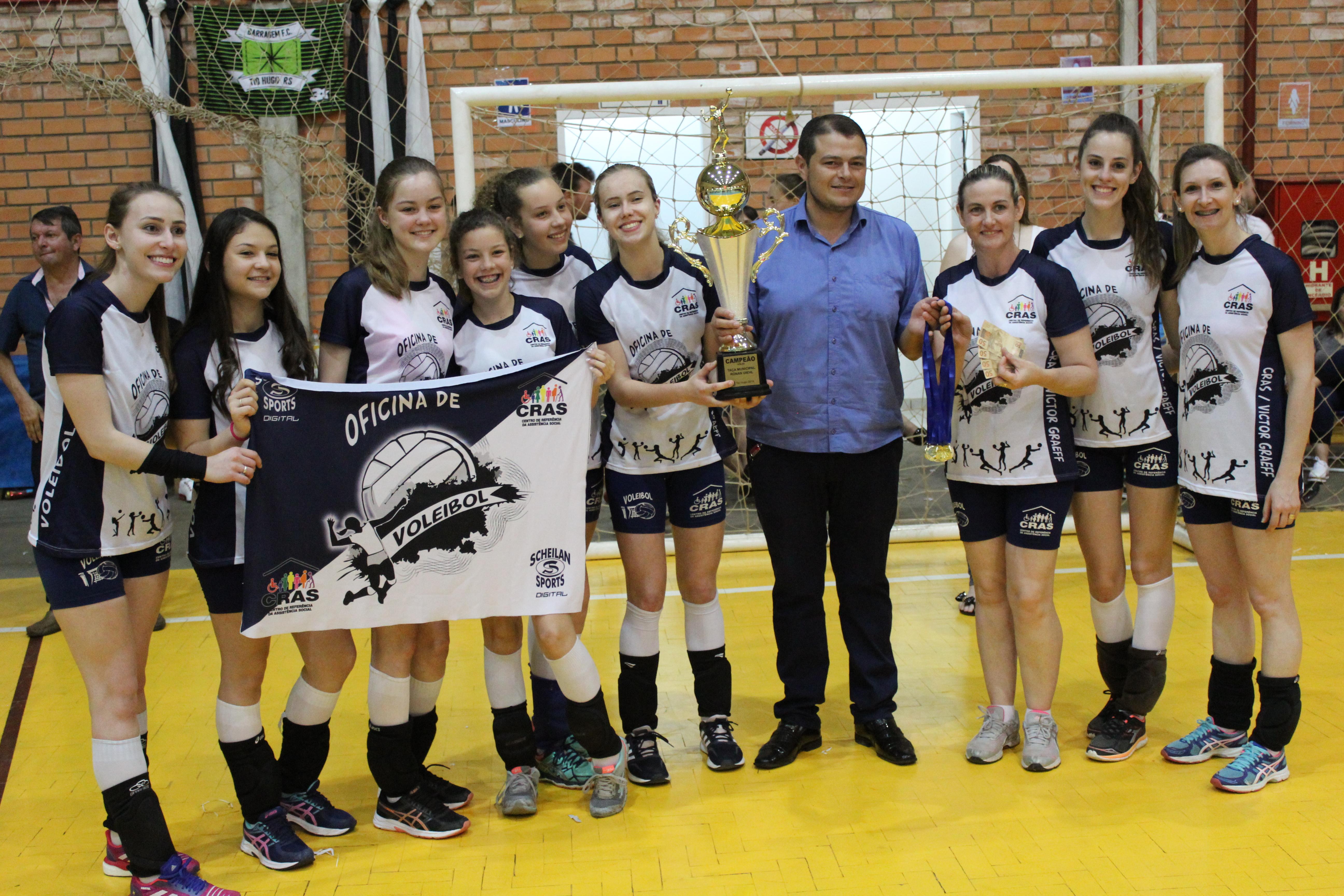 Conhecidos os campeões da Taça Ronan Diehl de Tio Hugo