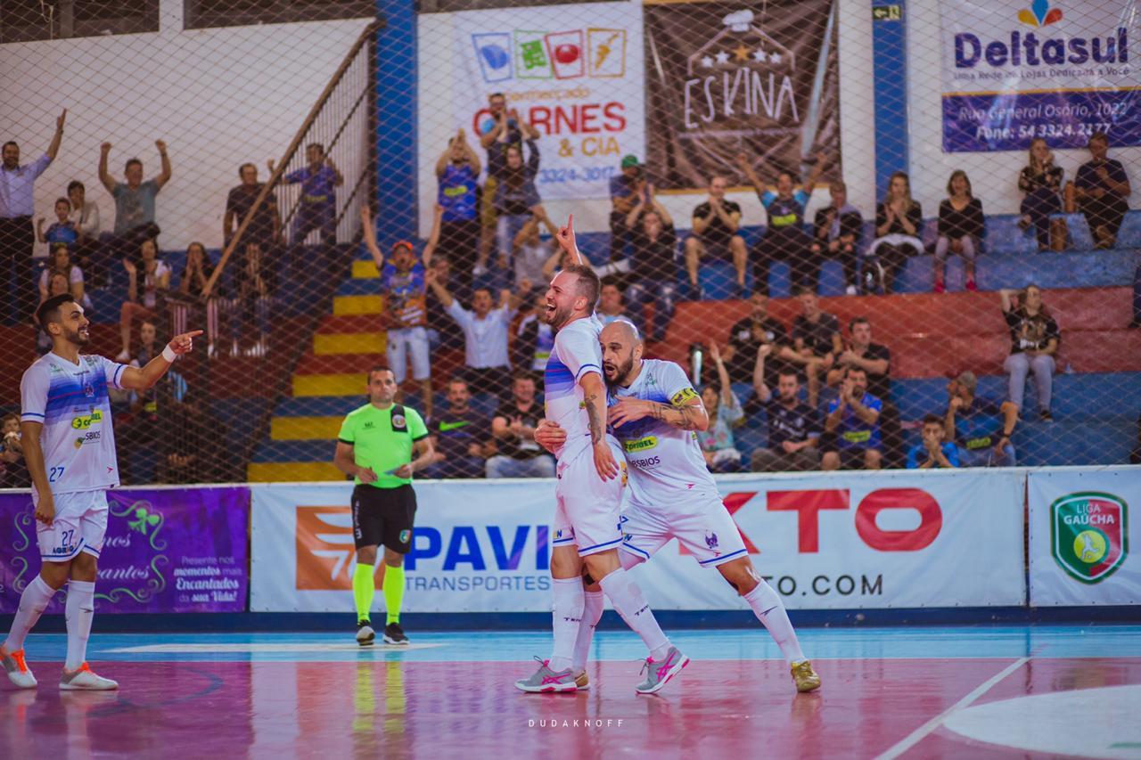 Guarany/Cotriel derrota Asif e segue na luta pela liderança da Liga Gaúcha de Futsal