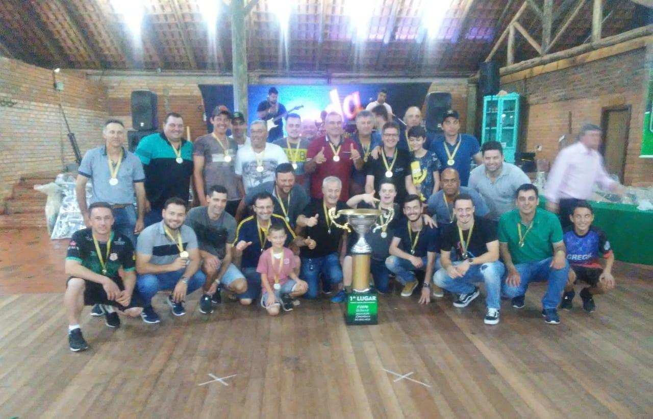 Ipiranga de Campos Borges é campeão da 1ª Copa Sicredi Associação Ortopédica
