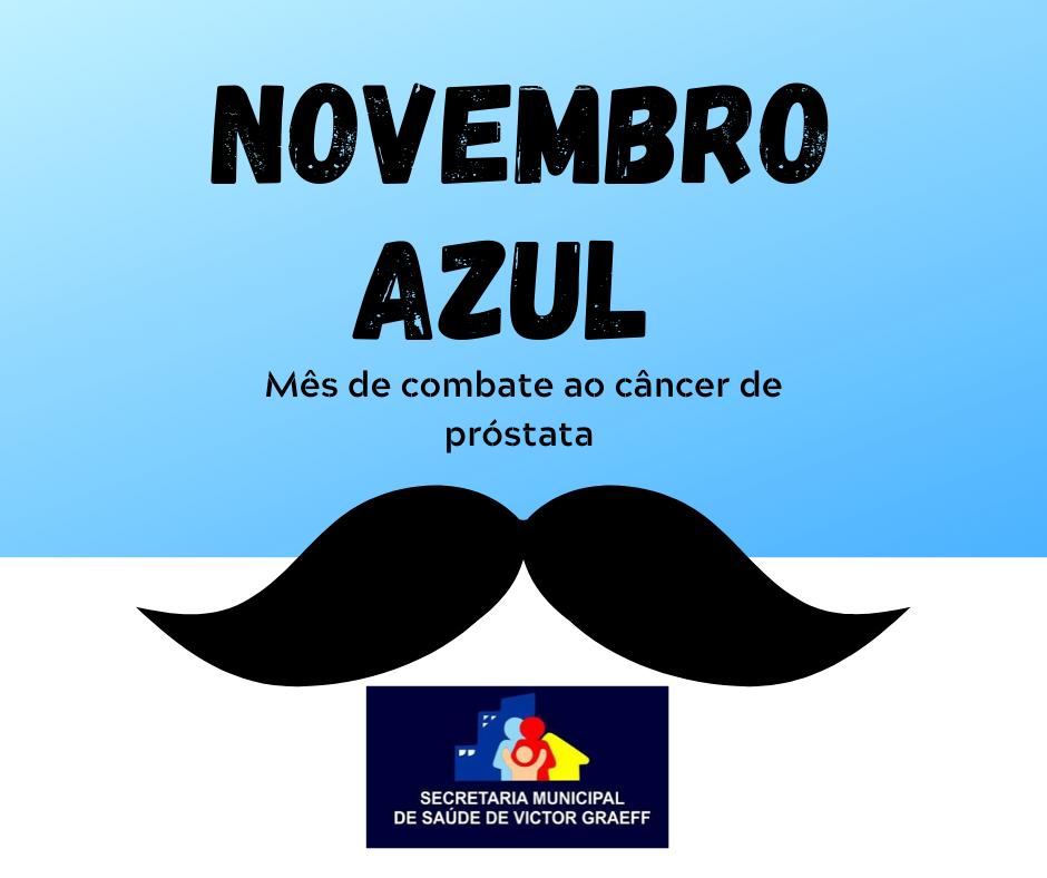 Victor Graeff promove ações em alusão ao Novembro Azul