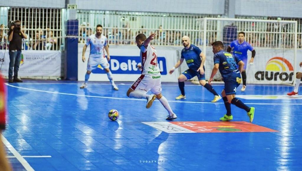Guarany/Cotriel empata com o Atlântico no primeiro jogo da final da Liga Gaúcha