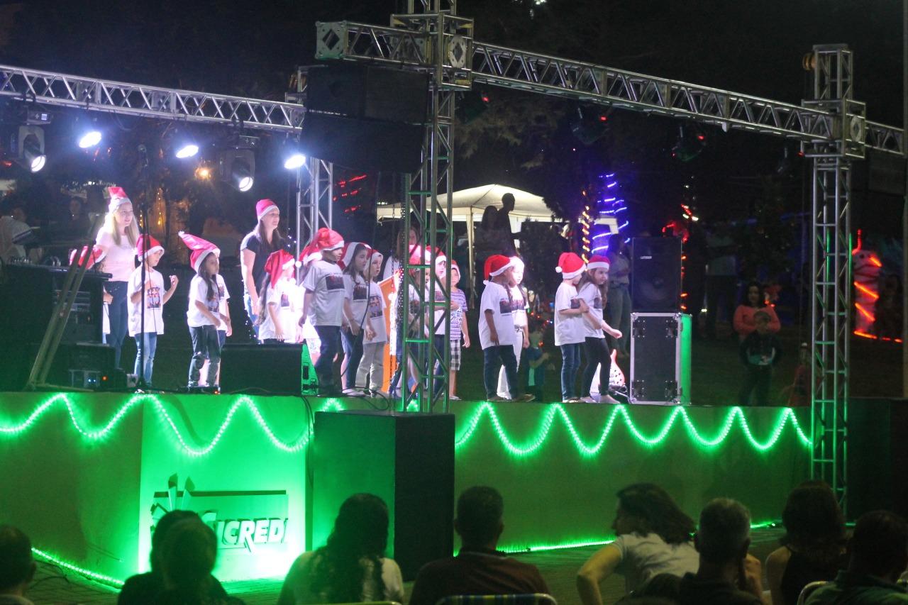 Natal Mais Iluminado foi realizado em Mormaço