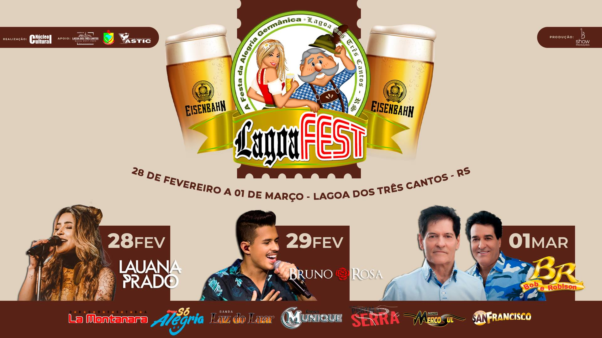 Aberta oficialmente a 19 ª Lagoa Fest