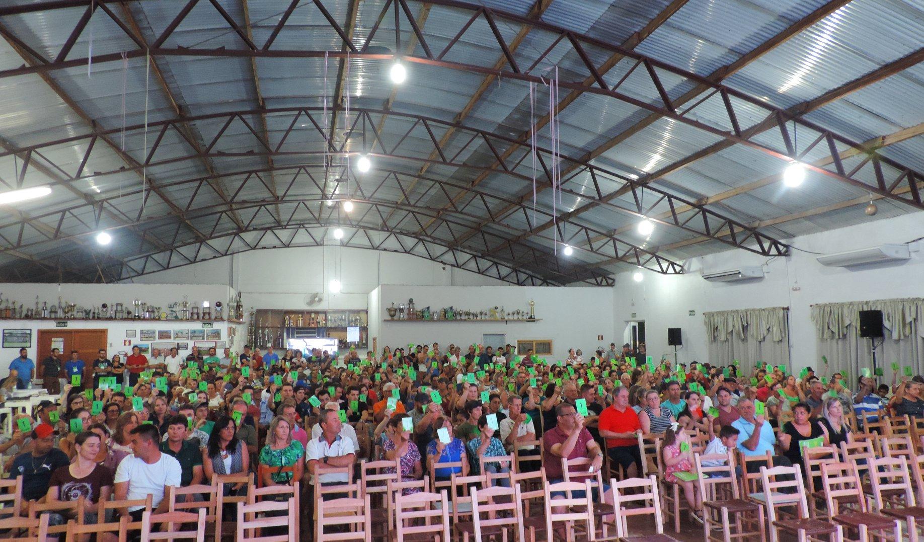 Realizadas últimas assembleias de núcleo da Sicredi Espumoso em Alto Alegre