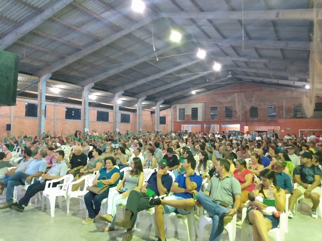 Sicredi Espumoso RS/MG realiza primeira assembleia em Jacuizinho