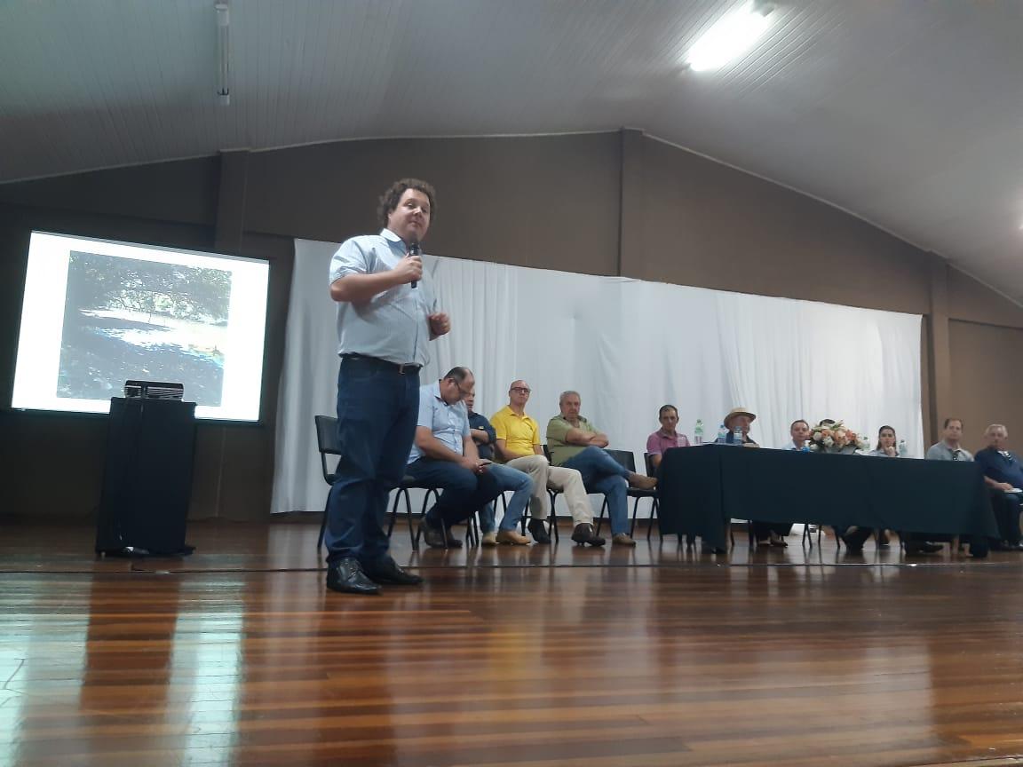 Prefeito de XV de Novembro destaca medidas contra a estiagem e atividades realizadas no município