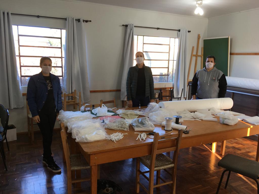 Associação do Comércio auxilia na confecção de máscaras em Alto Alegre