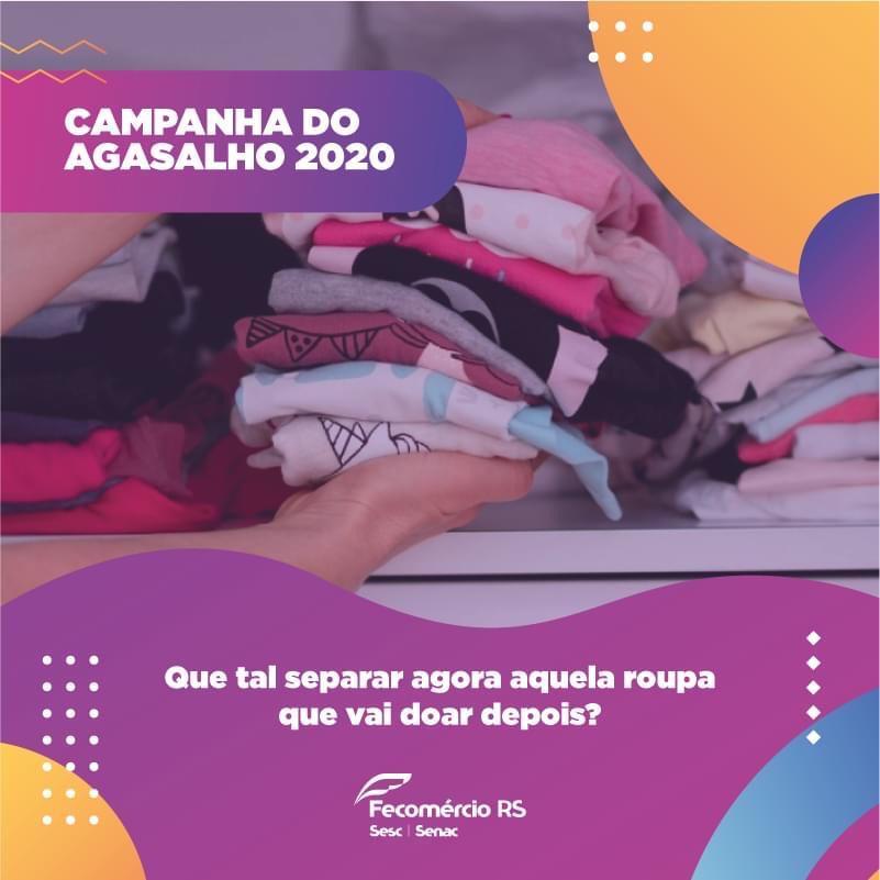 Sesc/ Senac de Carazinho realiza campanha do agasalho