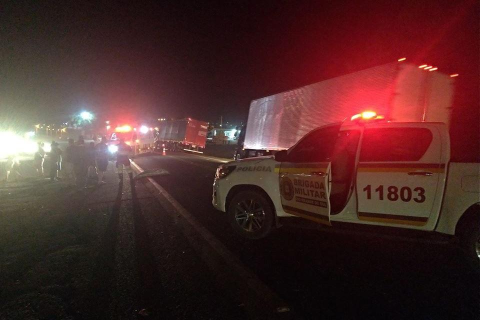 Homem morre atropelado na BR-386 em Soledade
