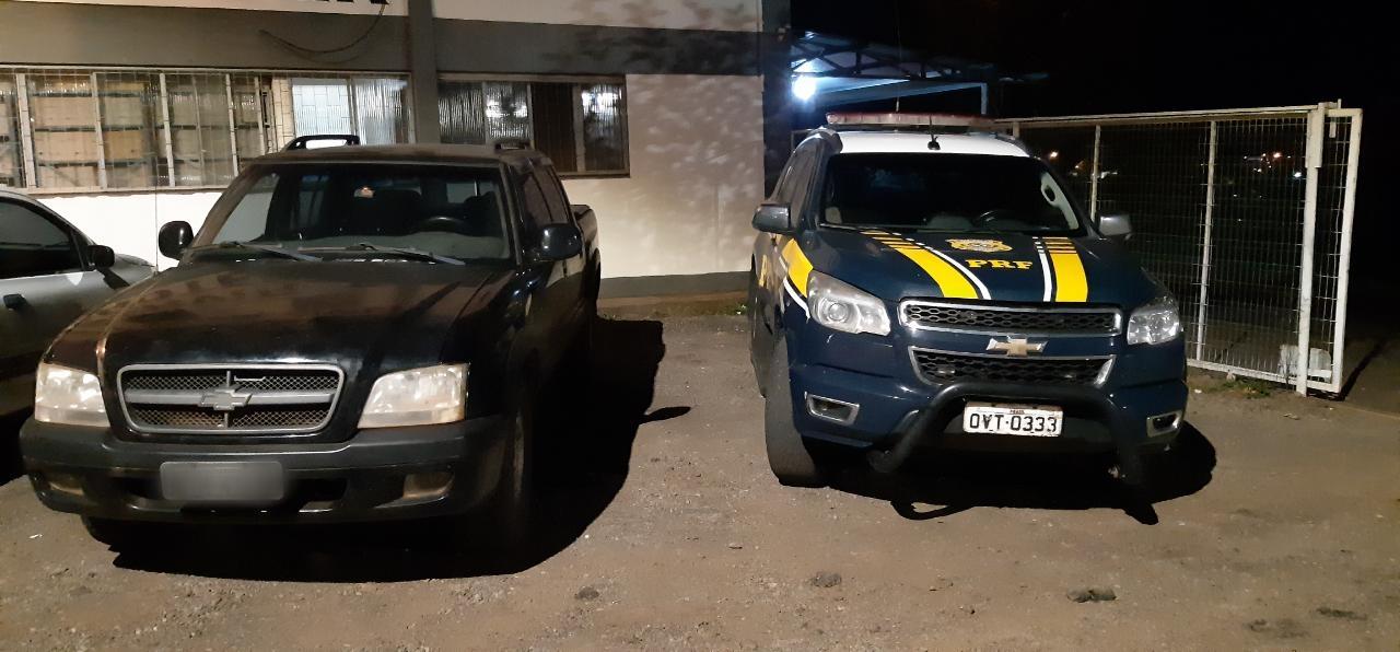 PRF recupera em Carazinho veículo após golpe com cheques roubados