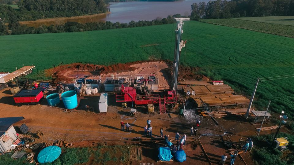 Poço de águas termais de 990 metros em XV de Novembro já está produzindo