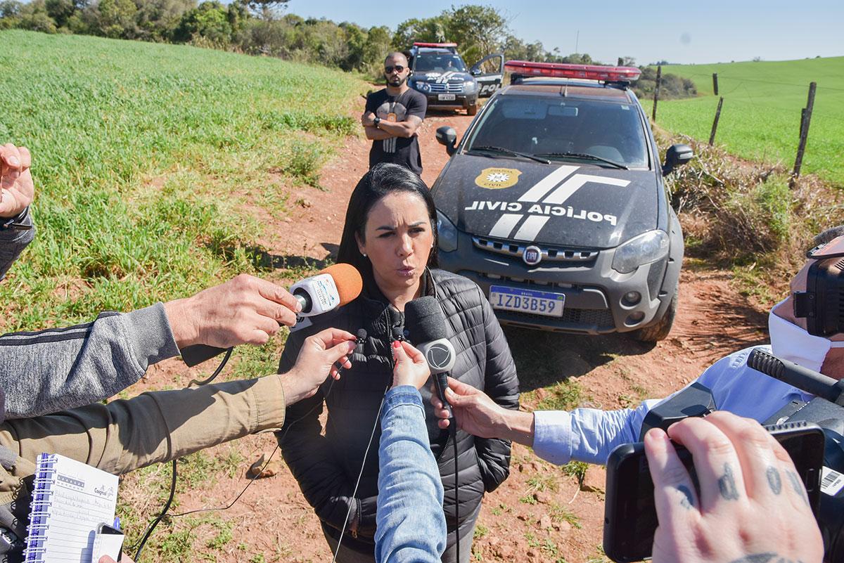 Após encontrar pertences de Paula Perin Portes, polícia de Soledade segue em busca do corpo da jovem