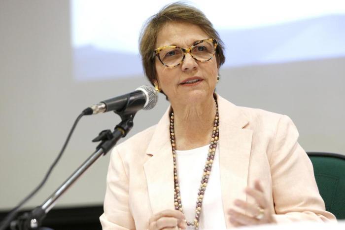'Agro do Brasil assume protagonismo no mundo crescendo 420% na produtividade em 60 anos e aumento de apenas 47% da área', diz Tereza Cristina