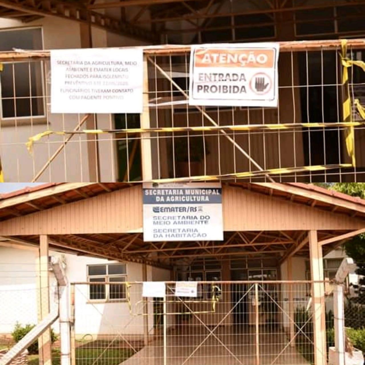 Secretarias de Agricultura e Meio Ambiente e Emater são isoladas após funcionário testar positivo para Covid-19 em Alto Alegre