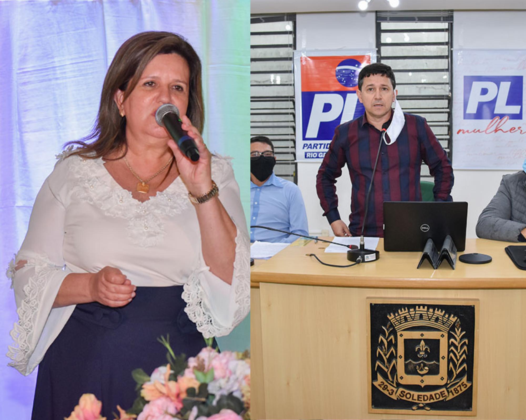 MDB confirma Marilda a prefeita e Sérgio Portela, do PL a vice em Soledade