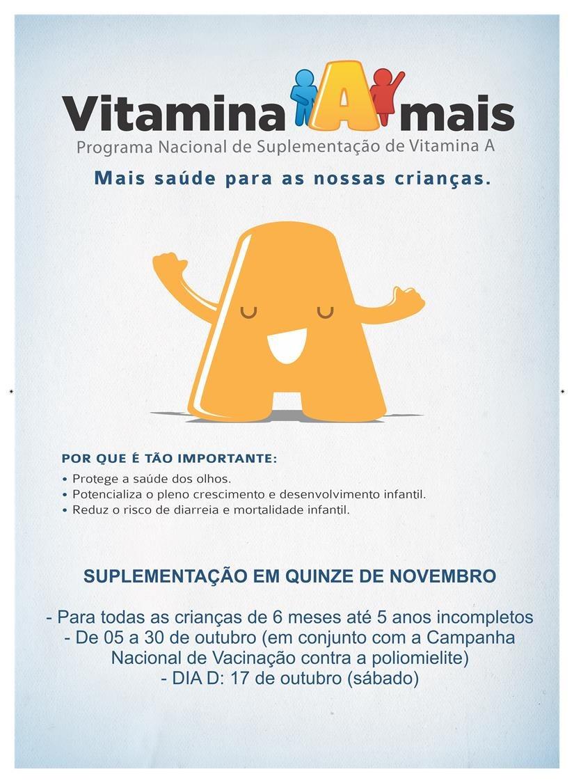 XV de Novembro realiza Campanha de Suplementação de Vitamina A