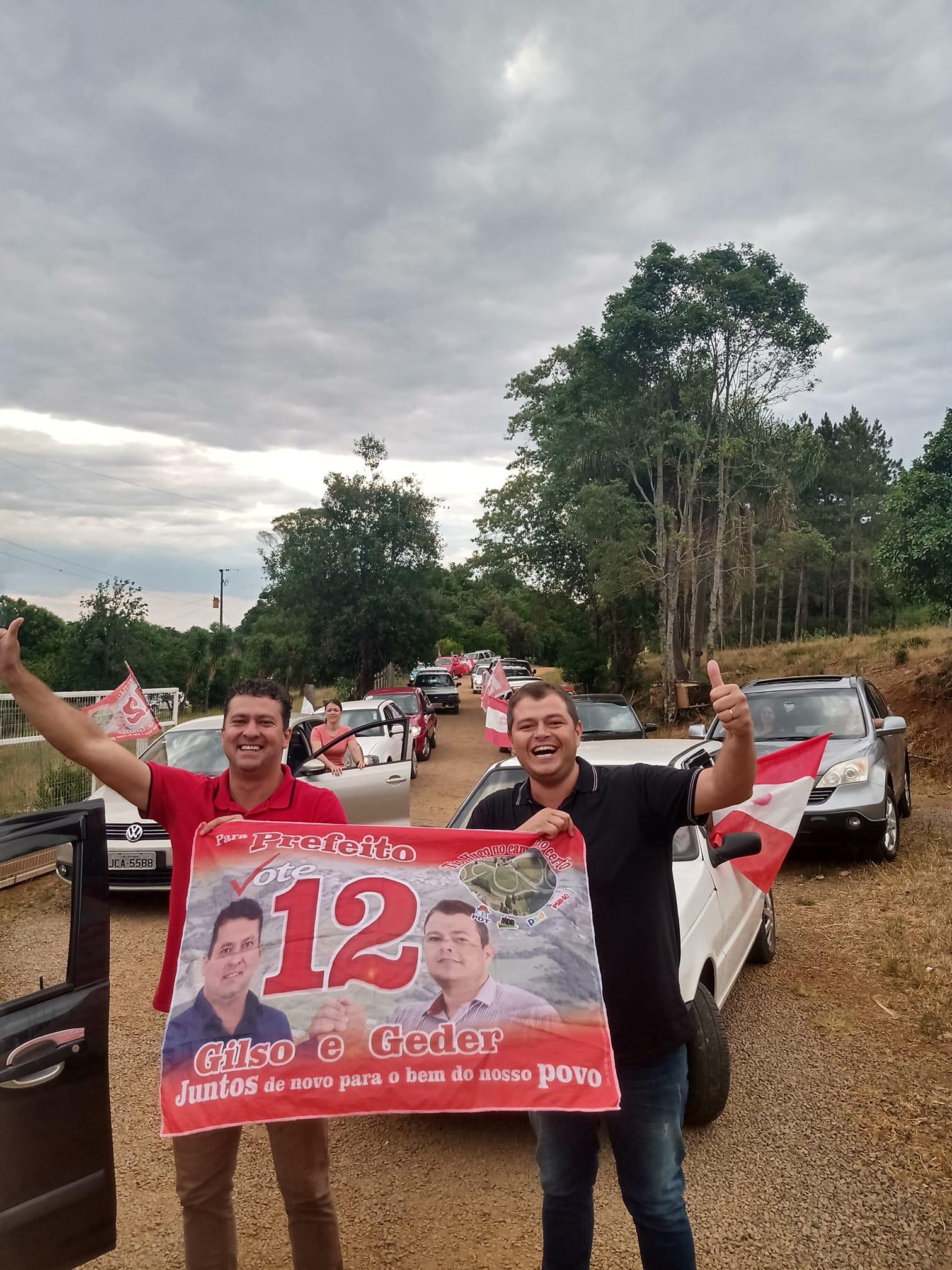 Gilso Paz, do PDT, é eleito prefeito de Tio Hugo