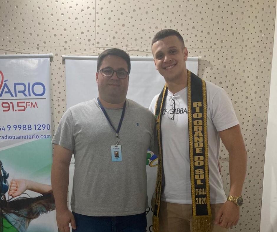 John Godoi, representante de Ibirubá é o novo Mister Rio Grande do Sul