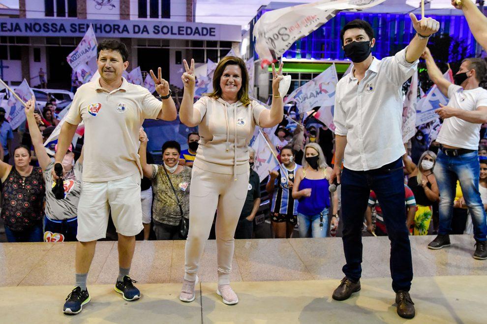 Marilda Corbelini é eleita a primeira prefeita de Soledade com 8.791 votos