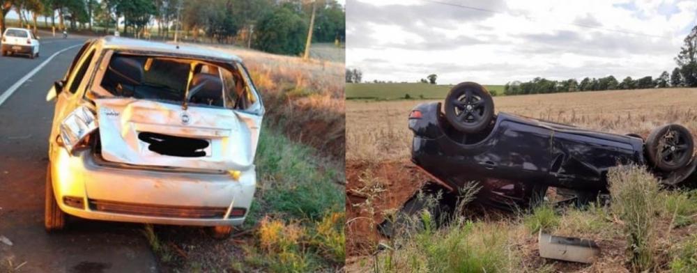 Dois acidentes são registrados no mesmo dia na ERS-142, entre Não-Me-Toque e Carazinho