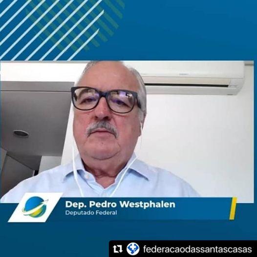 Internado com Covid-19, deputado Pedro Westphalen deixa aUTI