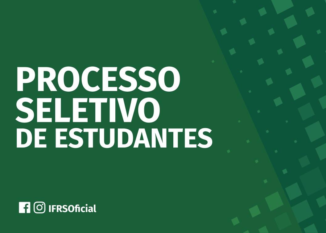 Processo de ingresso de estudantes do IFRS será realizado por sorteio e nota do Enem