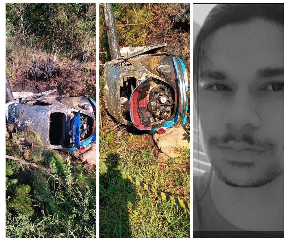 Acidente de trânsito em Tio Hugo causa a morte de um jovem de 18 anos